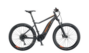 KTM Macina Action 271 in Black and Orange 2020 model