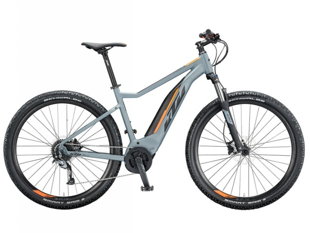 KTM Macina Ride 291 in Epic Grey and Orange