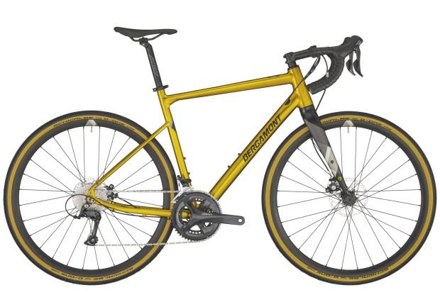 Bergamont Grandurance 4 Gravel Adventure bike in Gold