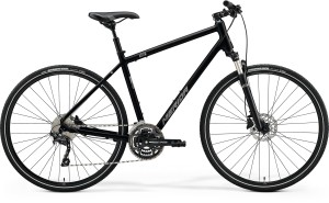 Merida Crossway 300 Gents 2021 in black
